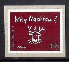 """3242 Österreich 2015   """" Why Nachten """"  68 cent  sk   **"""