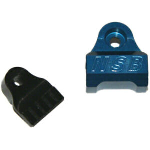 North Shore Billet Fox 40 (all years) and 2002-2007 32 & 36 Cable Guide Blue
