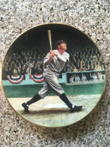 Babe Ruth/Called Shot Plate/Box/Paperwork