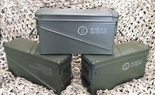 3 PACK MILITARY 40MM, BA30, PA120 AMMO CAN VERY GOOD CONDITION * FREE SHIPPING*