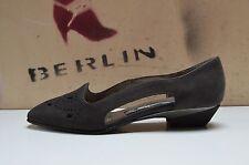 LIBELLE Damen Pumps UK 2,5 Ballerina made in W.Germany True Vintage flach grau