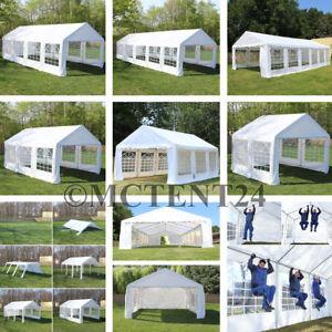 Partyzelt Pavillon wasserdicht PE / PVC Festzelt 3x2 - 6x12m Profi Qualität NEU