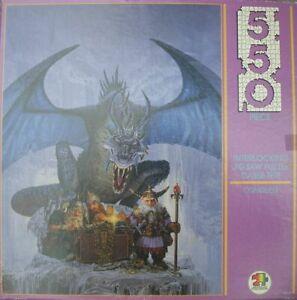 Vintage APC 550pc jigsaw puzzle Conquest Ken Parkinson fantasy art COMPLETE 6503