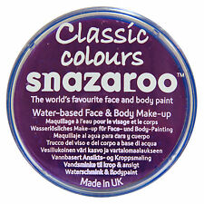 18ml SNAZAROO FACE & BODY COLOUR PAINT HALLOWEEN MAKE UP PAINTS FANCY DRESS