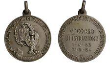 Medaglia Corpo Guardie di Pubblica Sicurezza 5° Corso Bolzano Argento #MD3388