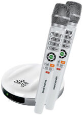KARAOKE Magic Sing E2 Dual mit 2 kabellosen Mikrofonen, Wireless, Neueste Tech.