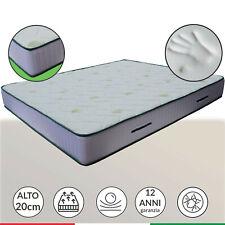 Materasso Memory foam alto 20 cm ortopedico anatomico in AirPur® - LISA