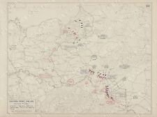 WWI The Eastern Front to the End of 1915 Set of 6 Vintage West Point Maps
