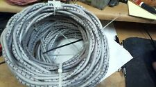12' coil Heavy Duty Western Electric /AIW 10ga SPEAKER WIRE stranded cloth PAIR