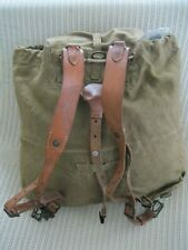 Original Czech Army M-50 Brown Khaki Ruck and Haversack