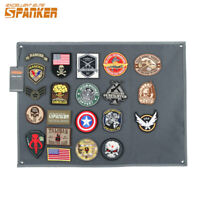 Tactical Morale Patch Panel with Loop Storage Hang on Wall S M L BLK COB RGN GRY