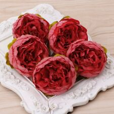 5pcs/Lot Artificial Silk Flower Peony Flowers Wedding Bridal Home Decor