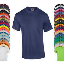 Gildan Herren T-Shirt ULTRA COTTON Einfarbig S M L XL XXL 3XL 4XL 5XL Neu 1G2000
