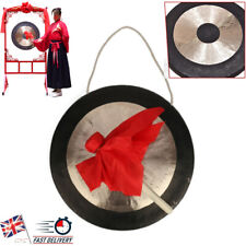 More details for 15.5 inch vintage musical instrument with hammer size hand forging copper gong