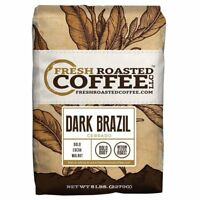 Dark Brazil Cerrado Coffee, Whole Bean Coffee, Fresh Roasted Coffee LLC.