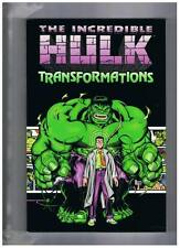 Marvel The Incredible Hulk Transformations TPB 2001 NM-