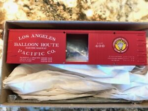 Roundhouse HO Kit #3010 36' Box Car - Los Angeles Pacific Co. Road #400 NEW!