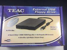 TEAC External USB Floppy Drive (FD-05PUW)Titanium Drive