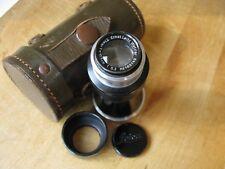 Leica 105mm Mountain Elmar f/6.3 10.5cm Lens 1933 Mint- ***Nicest on Ebay***