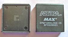 Altera MAX EPM7128SLC84-15 CPLD NEW IN TUBES - GENUINE ALTERA