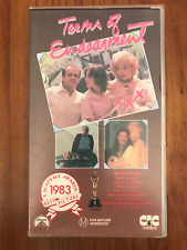 TERMS OF ENDEARMENT SHIRLEY MACLAINE JACK NICHOLSON AS NEW PAL VHS VIDEO