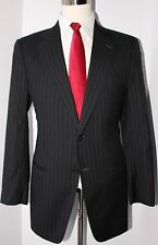 Giorgio Armani Collezioni Gray Side Vented Two Button Wool Mens Suit 41 L 35 31