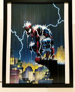 Amazing Spider-Man by John Romita Jr 11x14 FRAMED Marvel Comics Art Print Poster