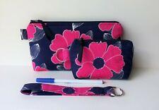 Handmade Wristlet Zipper Purse Wallet iPhone Case Coin Purse Keychain Gift Set/3