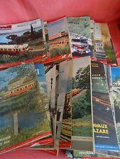 lot de 48 numéros LA VIE DU RAIL année 1964 magazine histoire du train SNCF