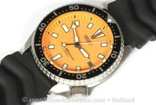 Seiko Divers 7002 divers customized with orange dial - Serial nr. 920216