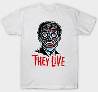 THEY LIVE T SHIRT 1980'S FILM MOVIE