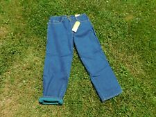 Stanley Workwear Mens Fleece Lined Work Jeans Size 36x32 NEW WITH TAGS