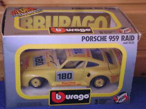 Burago / Bburago   Porsche 959 Raid   cod .0121   scala 1:24   sehr selten