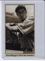 Dom DiMaggio '39 PCL San Francisco Seals Tobacco Road series #23