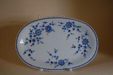 Servierplatte Platte 28/18,5cm Isolde Doris Bayerisch Blau Seltmann Weiden