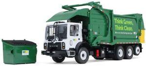 First Gear Waste Management 1/34 Mack TerraPro w Freedom Front End Loader & Bin