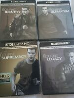 The Bourne Collection 4k Cases Bluray Dvd Discs Free Shipping No 4k Discs