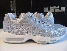 Nike Air Max 95 ANNIVERSARY QS Pure Platinum Metallc Silver 13 818721 001 og prm