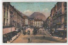 38 - CPA GRENOBLE - La Place Grenette et le SAINT -EYNARD (tramways)