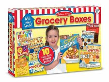Melissa & Doug Let's Play House Grocery Boxes Play Food Kitchen Staples Cereal