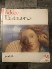 ADOBE ILLUSTRATOR 9.0 SEALED , Never Opened.