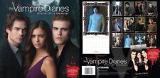 Vampire Diaries 2012 UK Calendar Nina Dobrev, Ian Somerhalder, Paul Wesley RARE