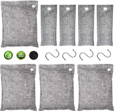 Breathe Green Eco   Charcoal Air Purifying Bag (4*200g+4*50g)   Activated Bamboo