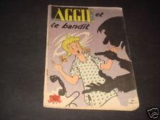 AGGIE N°8 ET LE BANDIT REEDITION COUVERTURE PAPIER MAT
