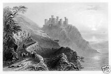 Harlech Castle Wales 12x8 Inch Art Print