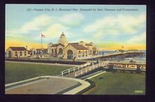 Ventnor City NEW JERSEY Municipal Pier Vintage Postcard