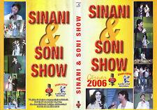 ALBANIAN DVD SINAN HOXHA & SONI  NE KONCERT 2006