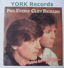 """PHIL EVERLY & CLIFF RICHARD - She Means Nothing .. - 7"""""""
