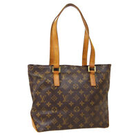 LOUIS VUITTON CABAS PIANO HAND TOTE BAG VI1020 PURSE MONOGRAM M51148 40471