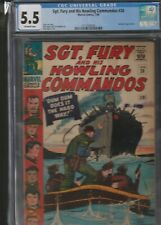 MILITARY SECTION: SGT. FURY AND HIS HOWLING COMMANDOS # 26 CGC 5.5